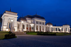 The Old Casino of Cluj. The old building of the former Casino of Cluj (est. 1897), today's Weddings' House of celebrations, situated in the city's central park royalty free stock image
