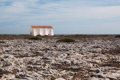 Old building at  Fortaleza de Sagres Stock Images