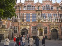 Old building in Gdansk Royalty Free Stock Photo