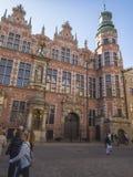 Old building in Gdansk Stock Images
