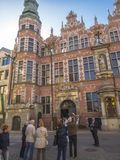 Old building in Gdansk Royalty Free Stock Images