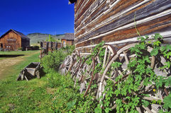 Old building in Ghost Town near Virginia City, MT Royalty Free Stock Images