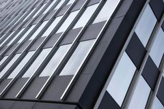 Building with glass windows royalty free stock photography