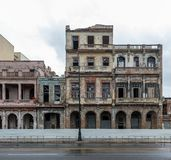 Old Building in Havana, Cuba.  Royalty Free Stock Image
