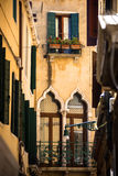 Old building in historic part of Venice, Italy. Royalty Free Stock Photo