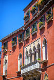 Old building in historic part of Venice, Italy. Royalty Free Stock Image