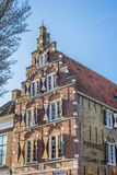 Old building in historical city Harlingen Royalty Free Stock Image