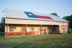 Old building history texas america morning. Old building history of texas in america eating outdoors texas flag royalty free stock photos
