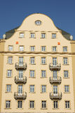 Old building hotel royalty free stock photography