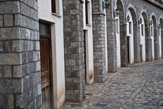 Free Old Building In Arahova Stock Image - 16744821