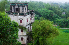 Old building in Kaiping Royalty Free Stock Photos
