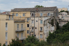 Old building in Kerkyra, Corfu Royalty Free Stock Photography