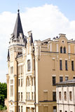 Old building known as King Richard's castle. On Andrew's descent in Kiev, Ukraine Royalty Free Stock Photo