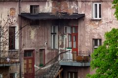 Old building. In Krakow of Poland royalty free stock images