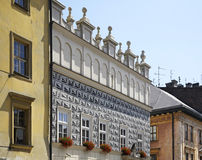Old building in Krakow. Poland Royalty Free Stock Photo