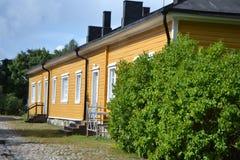 Old building in Lappeenranta, Finland Stock Photo