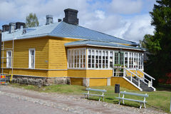 Old building in Lappeenranta, Finland Royalty Free Stock Image