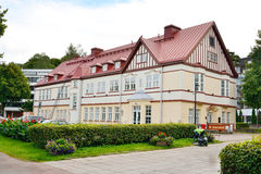 Old building in Lappeenranta at ssummer. Royalty Free Stock Photos