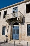 The old building in Limassol Stock Photography