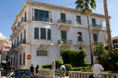 The old building in Limassol Royalty Free Stock Photos