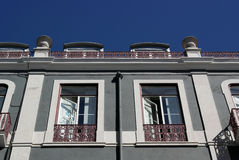 Old building, Lisbon, Portugal Stock Photo