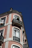 Old building, Lisbon, Portugal Stock Images