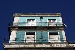 Old building, Lisbon, Portugal Stock Image