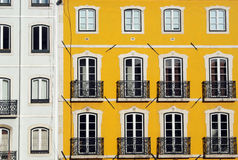 Old building, Lisbon, Portugal Royalty Free Stock Images