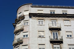 Old building, Lisbon, Portugal Stock Photography
