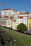 Old building, Lisbon, Portugal Royalty Free Stock Image