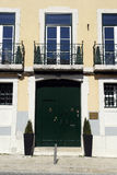 Old building, Lisbon, Portugal Royalty Free Stock Photo