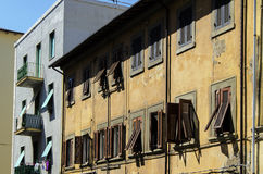 Old building in Livorno Stock Photos
