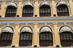 Old building in Macau stock photography