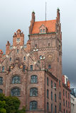 Old building made of red bricks Munich, Germany Stock Photography