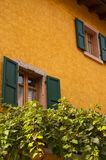 Old building at Malcesine on Lake Garda in Northern Italy Royalty Free Stock Images