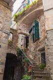 Old building at Manarola, Italy Stock Image