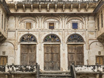 Old building in Mandawa. Details of an old building in Mandawa, Rajasthan Royalty Free Stock Image
