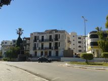 Old building Marsa plage royalty free stock images