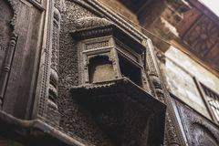 Old building at moez Stock Photography