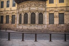 Old building at moez Stock Image