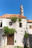 Old building in Montenegro Stock Photography