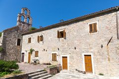 Old building in Montenegro Royalty Free Stock Photos