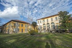 Building in the Monza Park. Old building in the Monza Park (Milan, Lombardy, Italy Royalty Free Stock Images