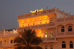 Old building in Muscat Stock Photography