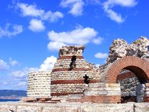 Old Building in Nessebar, Bulgaria Royalty Free Stock Image