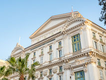 Old building in Nice, France Stock Image