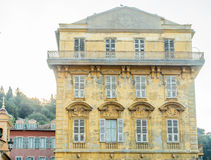Old building in Nice, France Royalty Free Stock Images