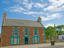 Old building in north berwick Royalty Free Stock Image