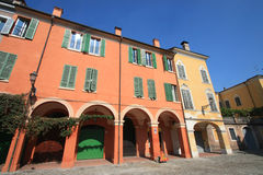 Old Building Of Modena Stock Photo