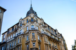 Old  building  in the old centre of Sofia , Royalty Free Stock Image